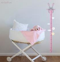 vinilo medidor conejo rosa