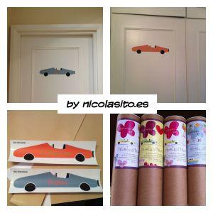vinilos infantiles personalizados de coches para decoración niños