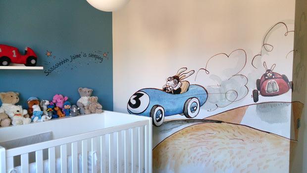 decoración-cuarto-niño-pared-vinilos-decorativos-nicolasito.es