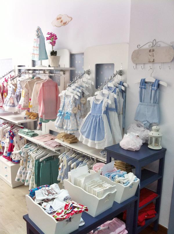 ropa tienda infantil