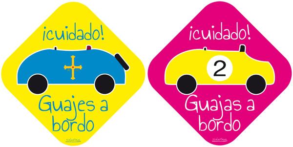 pegatinas-asturias-guajes-a-bordo-coches