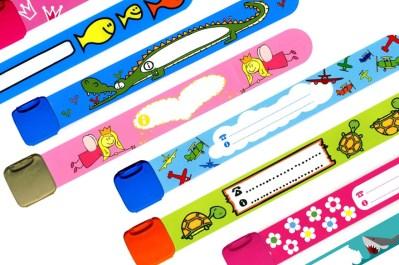 pulseras para que no se pierdan los niños